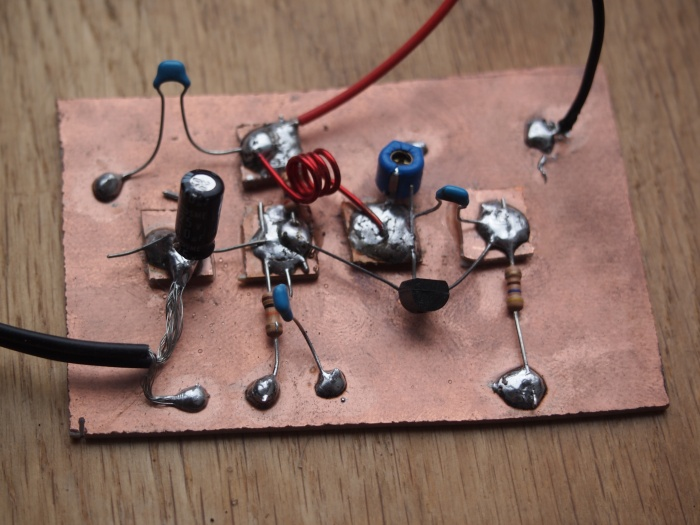 Magz Hall Micro transmitter