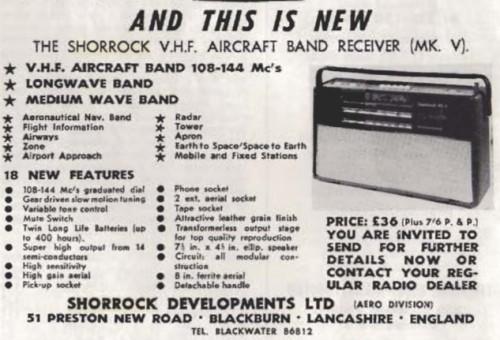 Shorrock advert tidy